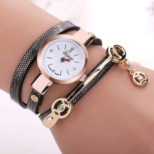 Duoya Fashion Women's Bracelet Quartz Watch (9 Colors)