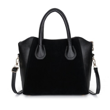 Hot New Women's Leather Shoulder Bag (Black)