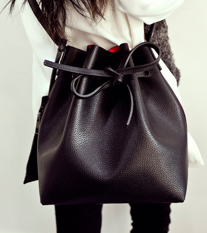 Fashion Leather Cross-Body Bag