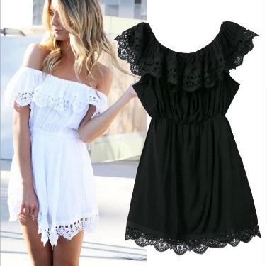 Vintage Fashion Lace Dress