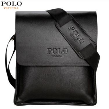 Polo Leather Messenger Bag