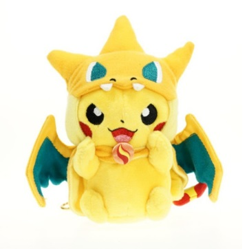 Pikachu in Costume (Charizard)