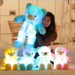 Glowing Stuffed Teddy Bears